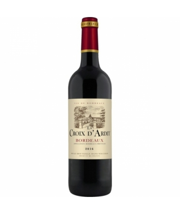 VIN ROUGE BORDEAUX 13° 75 CL